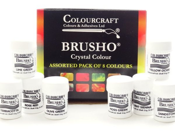 brusho 8 new packs
