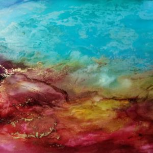 Alcohol Ink Nancy's Dream