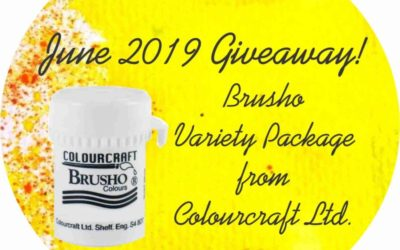 June 2019 Brusho Variety Package Giveaway