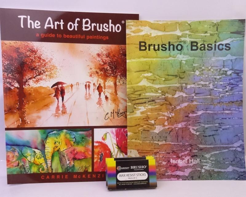 Teaser 1 July 2019 Brusho Giveaway