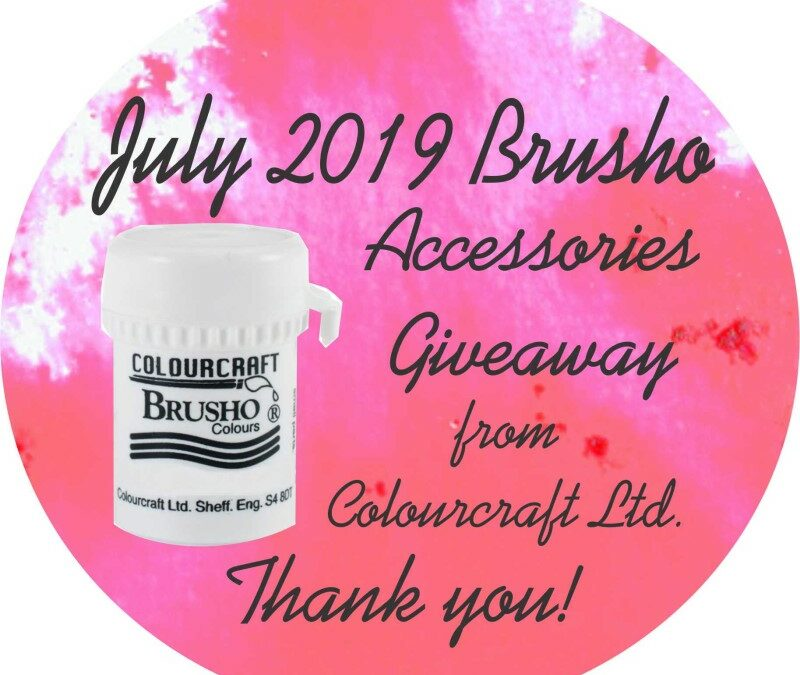 July 2019 Brusho Accessories Giveaway!