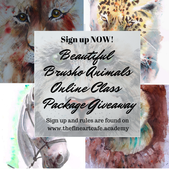 Beautiful Brusho Animal Gift Package Giveway!
