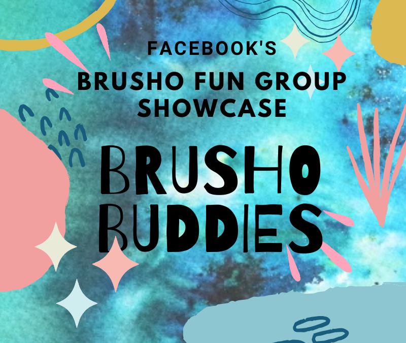 Facebook's Brusho Fun Group Brusho Buddies Showcase February 2020