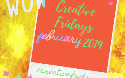 Creative Friday Brusho Art for February 2020!