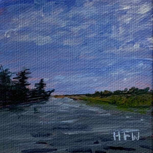 "Pearl River Miniature, 3"" x 3"""