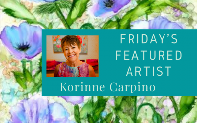 Friday's Featured Artist Korinne Carpino Art