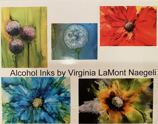 Notecards alcohol inks